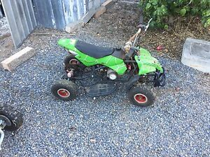 Quad bike 49cc both one works one is parts only Port Pirie Port Pirie City Preview