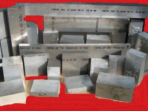 Aluminum Plate Aircraft Quality 20 Pounds 7075 T651  Scrap  Bar Block assortment