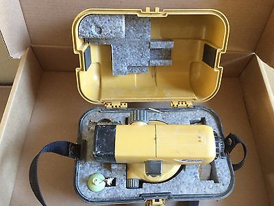 Topcon At-b4 Automatic 24x Auto Level Surveying - Used Ships Same Day