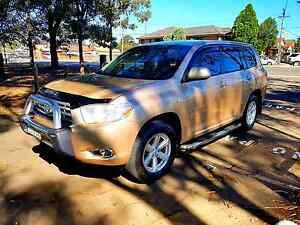 My 09 Toyota Kluger Awd prestigious condition Lugarno Hurstville Area Preview