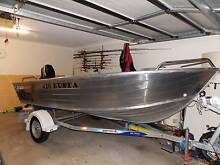 """QUINTREX """"BUSTA' 420 BLADE HULL 2014 Thornlands Redland Area Preview"""