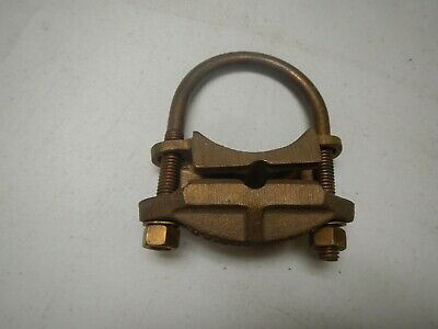Burndy Gar1826 Pipe Ground Clamp 4sol- 20 Str 2 - 2 38 Rod