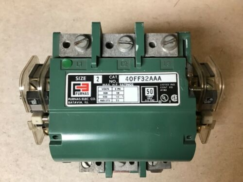 Furnas 40FF32AAA Size 2 Motor Starter With 120/240 Volt Coil-New