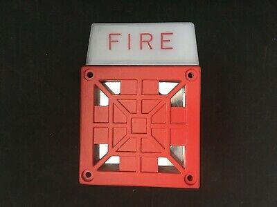 Vintage Wheelock 7002t-24 Fire Alarm Hornstrobe