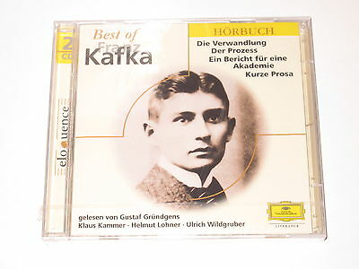 2 CD/SEALED NEU NEW/DG 1718038/BEST OF FRANZ KAFKA/DIE VERWANDLUNG/DER