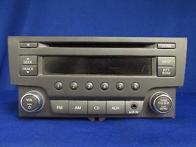2013 Nissan Sentra Radio Receiver Single Disc 28185-3RA2A R218