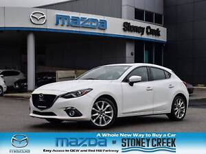 2015 Mazda Mazda3 GT Nav Leather Heated Seats Bose Rear Cam