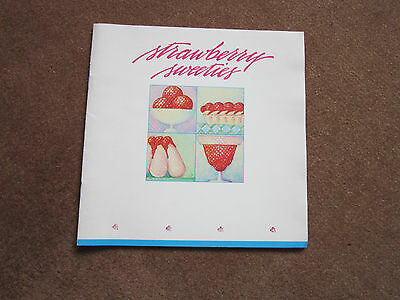 Strawberry Recipes Sweeties Rare Fruit Cookbook 1984 Yumm LOOK! sorbet, soup - Fruit Soup Recipe