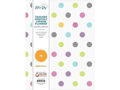 2020-2021 Blue Sky 8.5 X 11 Planner Teacher 100336-a21