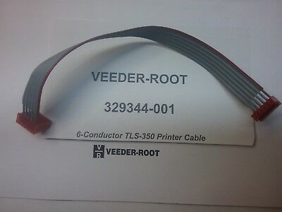 Veeder-root 329344-001 Printer Cable 6 Conductor Tls-350 Tls-300