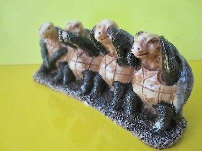Schildkröten 4 Schildkröten Nicht hören,nicht sehen,nicht sprechen,nicht tun Neu