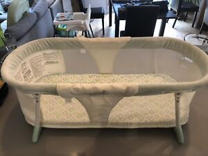 Lit crib landau bébé summer infant