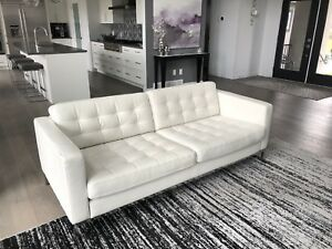 Leather IKEA Sofa