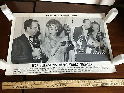 Illustrated Current News Photo - 1967 Emmy Don Adams Lucille Ball Knotts Bavier
