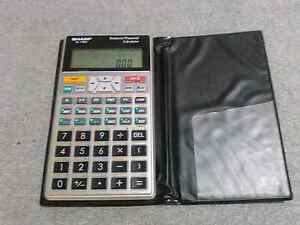 SHARP EL-735S Business/Financial Calculator Georgetown Newcastle Area Preview