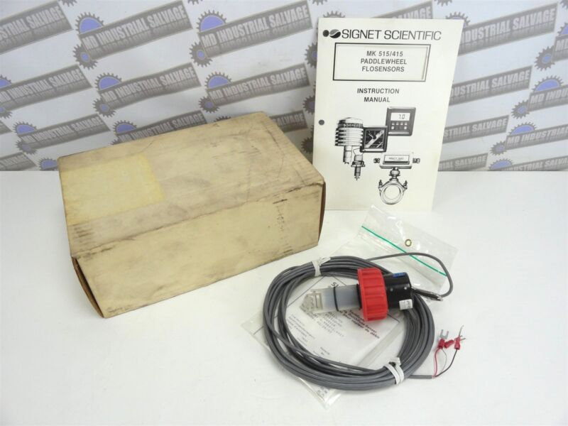 + GF + Signet * Flow Transmitter 8515, 8512, 8011 & Paddle Wheel New in the Box