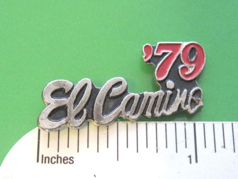 1960 - 1988  EL CAMINO  script -  hat pin , tie tac , hatpin , lapel  GIFT BOXED