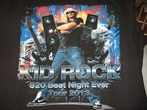 Kid Rock Best Night Ever Tour Dates