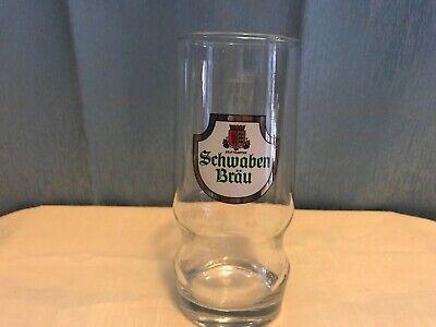 VINTAGE SCHWABEN BRAU STUTTGARTER GLASS / .3L GERMANY
