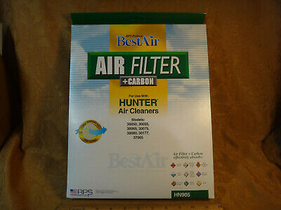 Best Air Hunter Air Cleaner Filter +Carbon HN905 - Free S&H
