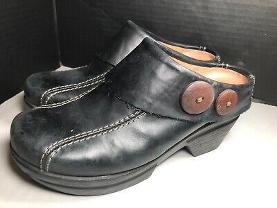 Womens Brown Sanita Clogs Slip On Size 37 Slip Resistant Sanita Slip Resistant Clogs