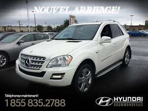 Mercedes-Benz ML350 BLUETEC 2011 + 4MATIC + CUIR + WOW !!
