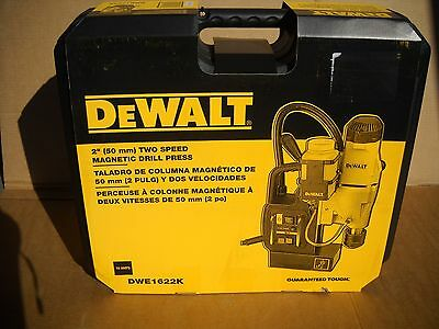 Dewalt Dwe1622k 2 2-speed Magnetic Drill Press Kit 10 Amp New