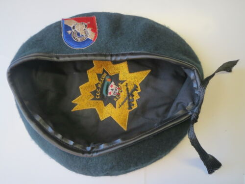 GREEN BERET ,  USSF 5th Special Forces Group MACV-SOG CCC RT FORK BERET ,