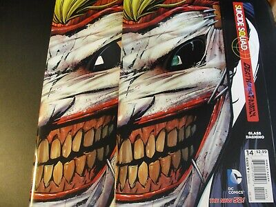 BATMAN & ROBIN #15   JOKER MASK COVER DEATH OF THE FAMILY & #15 (Batman And Robin Masks)