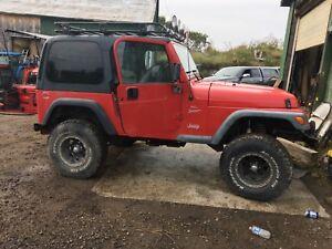 1999 Jeep Tj  price drop