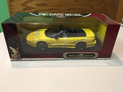 2002 Collectors Edition Pontiac Firebird Trans Am WS6 Convert Diecast 1:18 Model