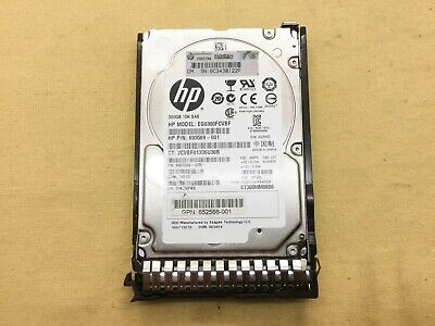 "HP 652564-B21 300GB 10K 2.5/"" SAS 6G DUAL PORT SC ENT HDD  653955-001"