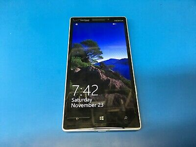 Nokia Lumia 930 32GB - White (Verizon) A00020090 (GSM 4G LTE) - WORKS GREAT!