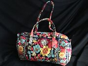 Vera Bradley Small Duffel Happy Snails
