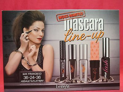 Benefit Most-Wanted Mascara Line-Up~They're Real!~Roller Lash~BADgal~NIB~SEALED