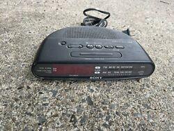 Sony Dream Machine FM/AM Clock Radio (Model ICF-C390) Tested Works
