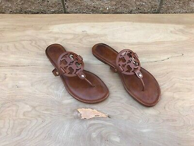 Tory Burch Miller Thong Sandal , Vintage Vachetta Leather , Size 10 M