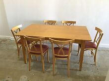 Dining table & chairs Centennial Park Eastern Suburbs Preview
