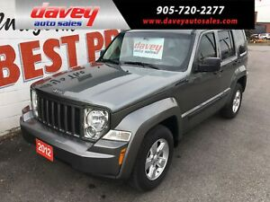 2012 Jeep Liberty Sport 4X4, TOW PACKAGE, POWER WINDOWS