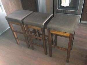Great bar stools - $75 for all three!