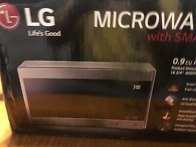 LG LMC0975ST 0.9 cu ft Countertop Smart Microwave Oven 1000Watts Stainless Steel
