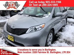 2017 Toyota Sienna 3rd Row Seating, Back Up Camera