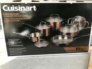 Cuisinart 10 piece cookware set