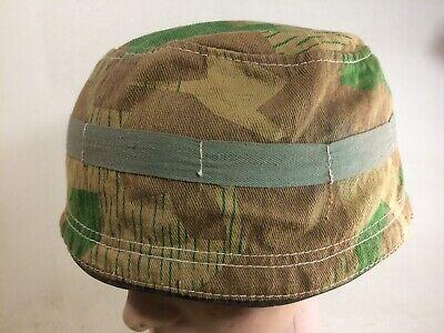 1x Stahlhelm Fallschirmjägerhelm Netz Helmnetz mit 6 Haken khaki//sandfarben