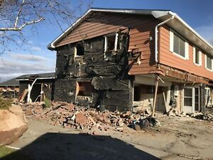 Demolition and property clean up