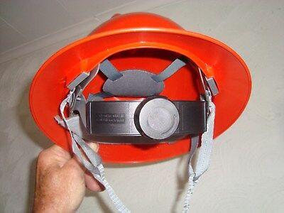 Forester Orange Full Brim Hard Hat Ratchet Suspension Construction Safety Ansi