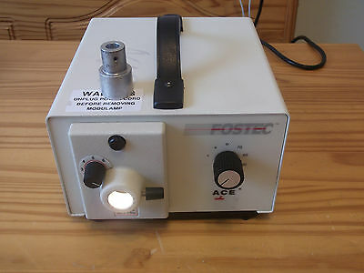 Fostec Light Source 20520 Waluminum Adapter Free Shipping