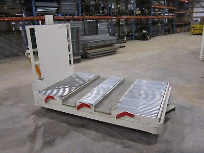 Topper Industrial Roller Bed Transport Tug Cart 52 X 80 2000 Lb Cap Brakes