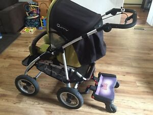 Quinny Freestyle stroller with buggy board