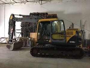 Excavatrice Volvo 140BLC 2003 4700Heures!